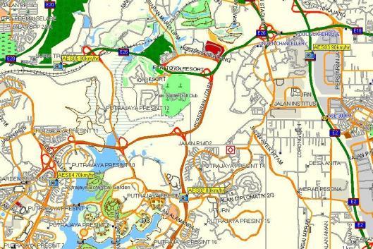 4 lokasi perangkap hadlaju di Putrajaya